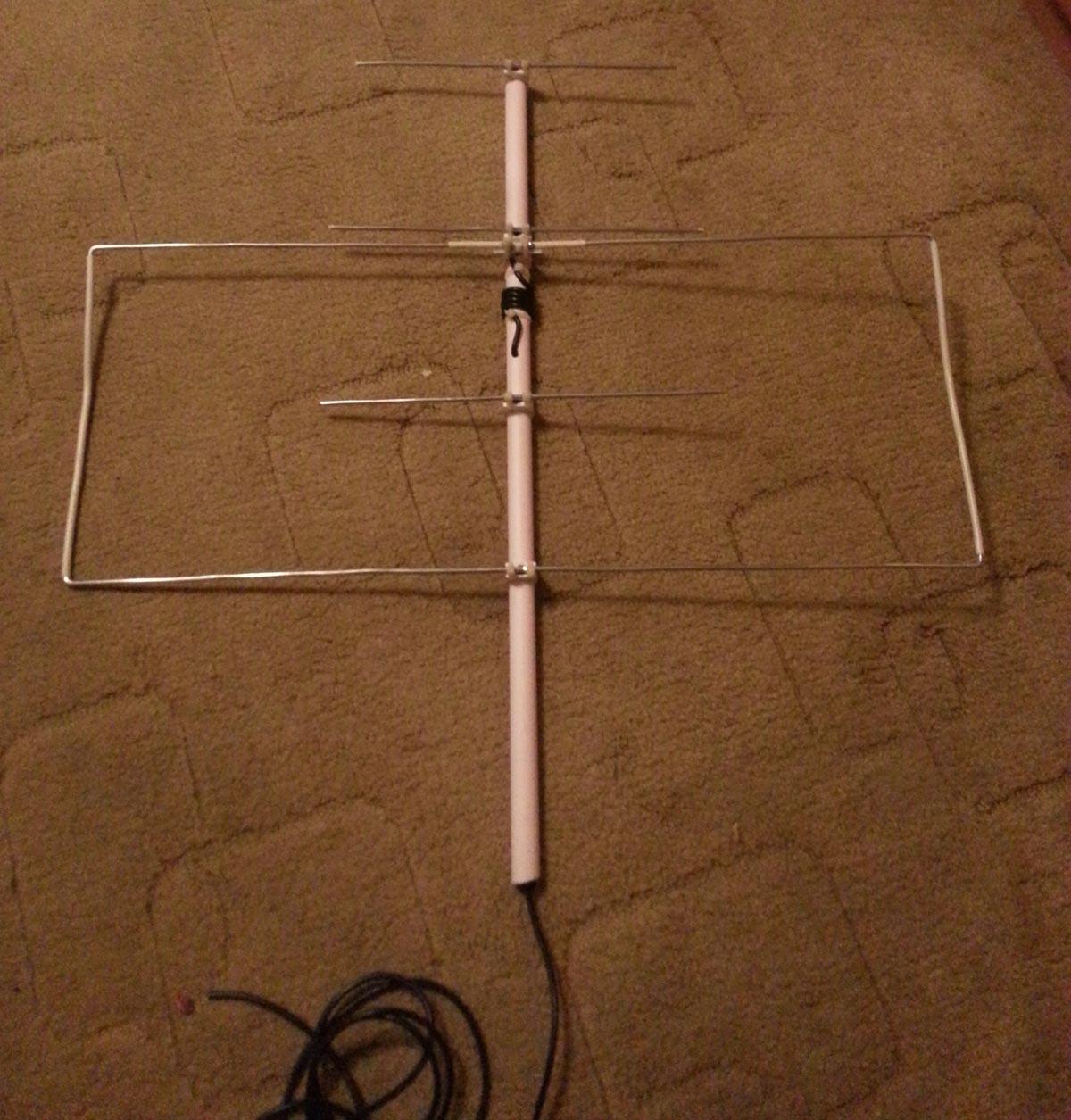 Изготовление антенны для музыкального центра своими руками 84